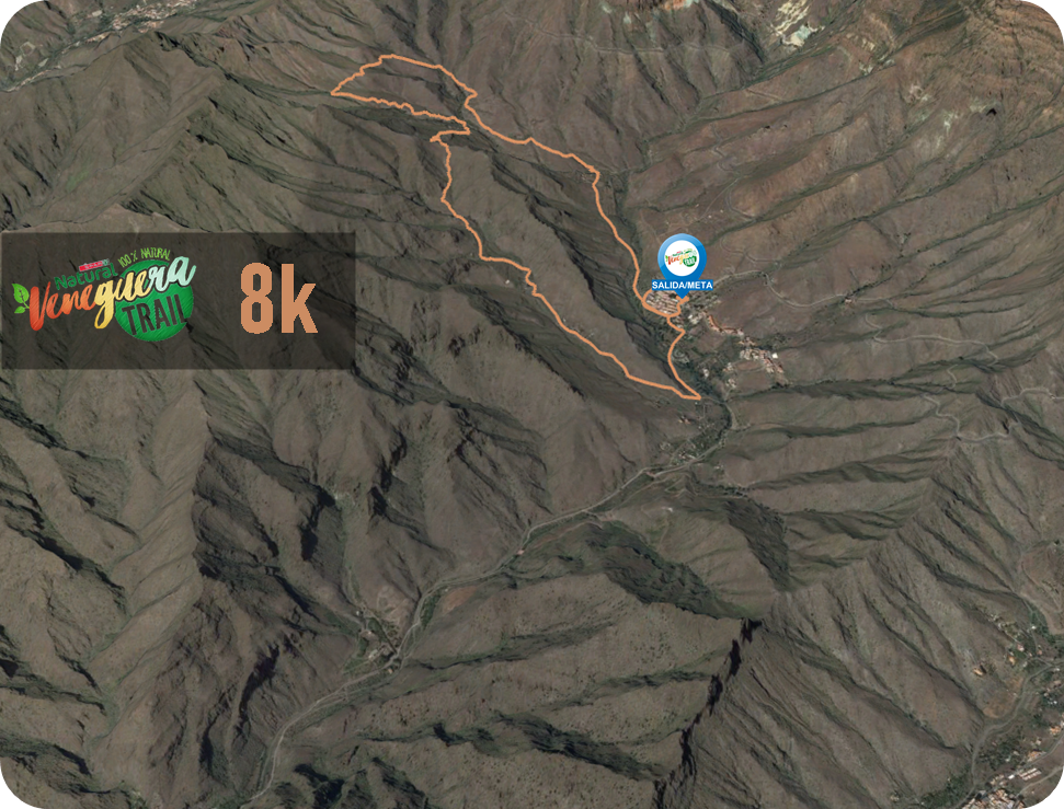 Recorrido 8K Veneguera Trail 2020